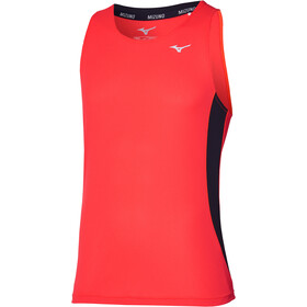 Mizuno DryAeroFlow Tank Men, ignition red